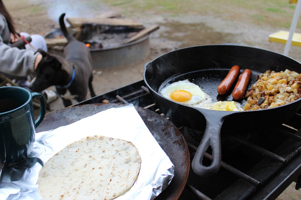 Safety guidelines when using portable propane gas stove