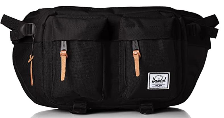 The Herschel eighteen waist pack is a great quality large EDC waist bag