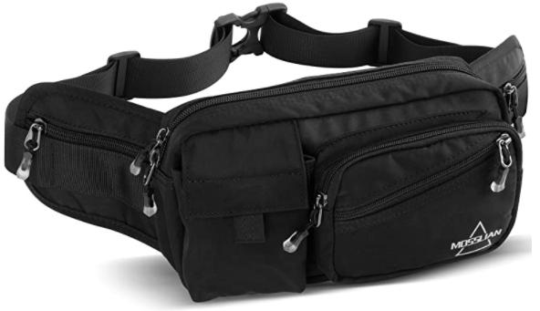 The mosslian fanny pack is a light weight EDC waist bag