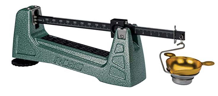 The RCBS M500 mechanical scale is a great mechanical beam scale