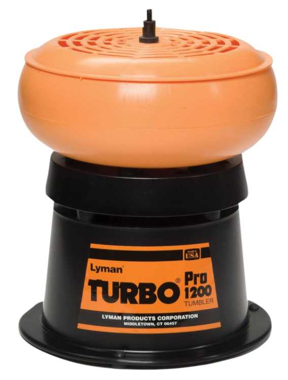 The lyman pro 1200 is one of the best vibrating brass tumblers
