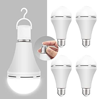 Emergency rechargeable light bulb